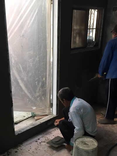 台南仁德浴室翻修-壁癌處理-老屋翻修