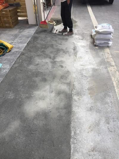 屏東潮州鎮抿石工程-老屋翻修-屏東抿石子