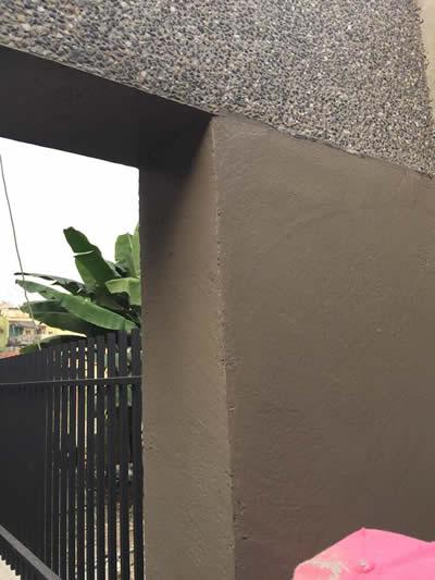 高雄牌樓抿石工程-高雄抿石子